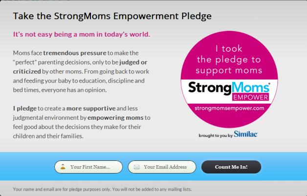 strongmomsempower pop-up step 1