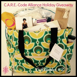 C.A.R.E.-Code Alliance baby products giveaway gift basket 2