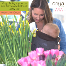 Babywearing, Onya Baby; Miracle Milk Stroll, Best for Babes
