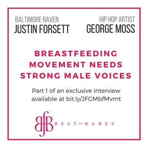 Justin Forsett George Moss Breastfeeding Movement Needs Strong Male Voices